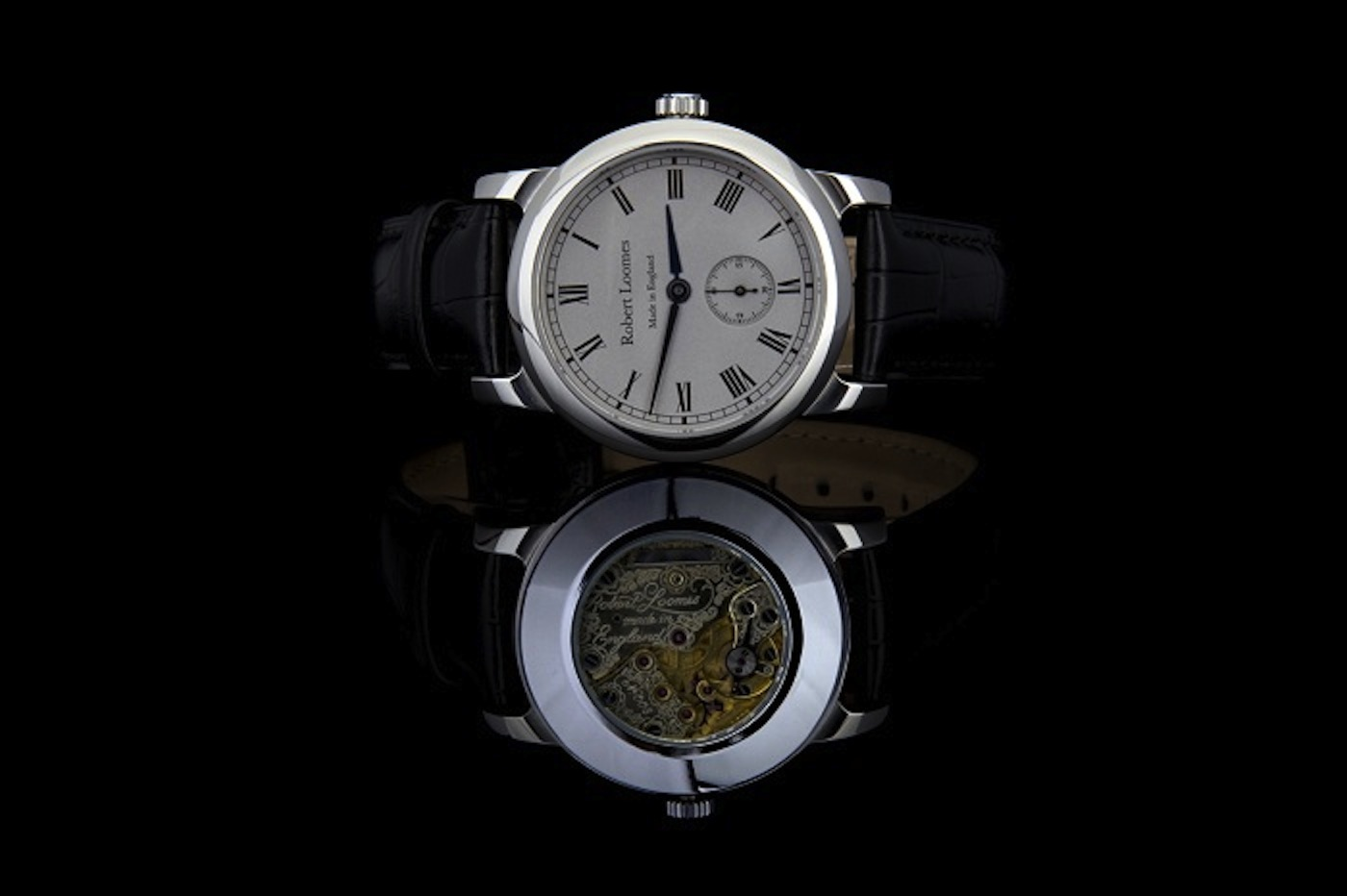 Classical watches total design reviews for Robert loomes watch